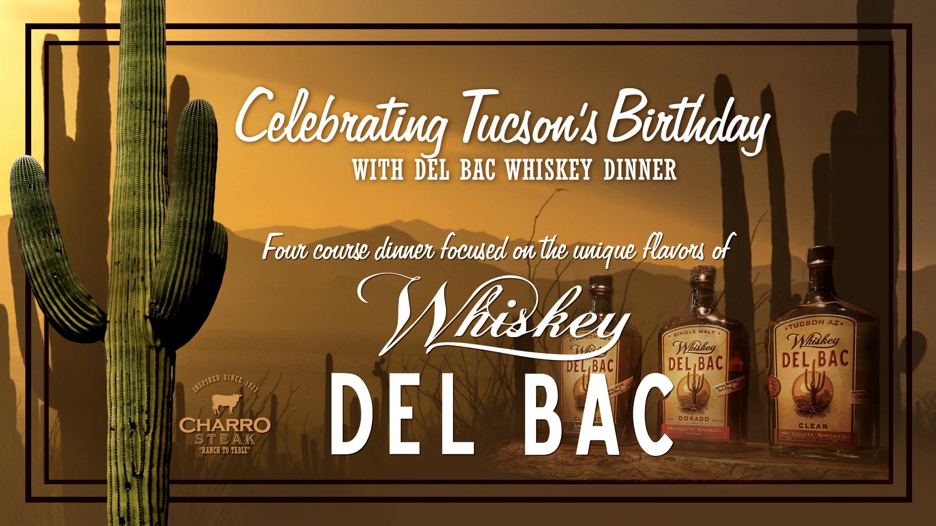 Del Bac Whiskey Dinner