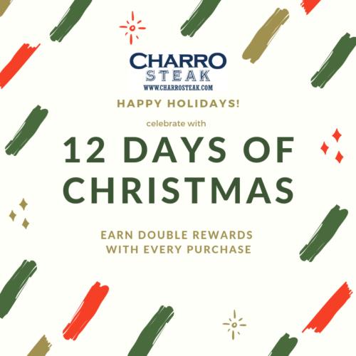 12 Days of Christmas Steak