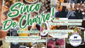 Sinco de Charro! @ Charro Steak